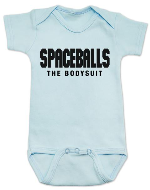 spaceballs the bodysuit, spaceballs the movie baby gift, blue