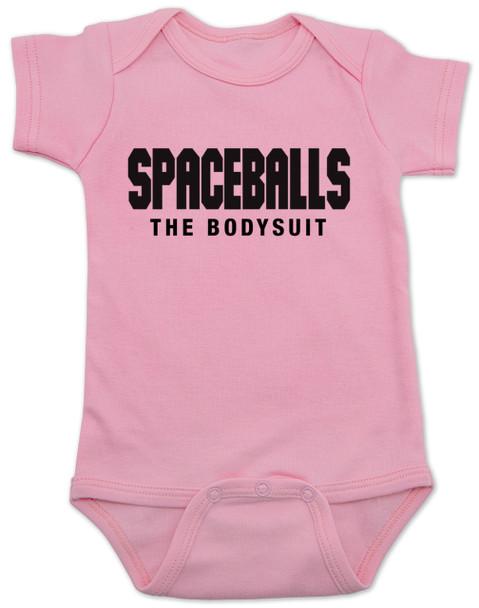 spaceballs the bodysuit, spaceballs the movie baby gift, pink