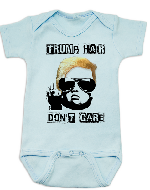 Donald Trump hair baby, Political baby Bodysuit, Make my diaper great again, Make America Great Again baby Bodysuit, 2016 Election baby Bodysuit, Political baby clothes, Future Republican, blue