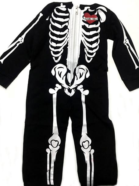 Toddler Skeleton Jumpsuit, Halloween Skeleton suit for toddlers, Skeleton jumpsuit with hood, vulgar baby skeleton suit, toddler skeleton costume, skeleton bones jumpsuit with face on hood, cool kids skeleton outfit, skeleton bodysuit for toddlers, Hooded Skeleton bodysuit