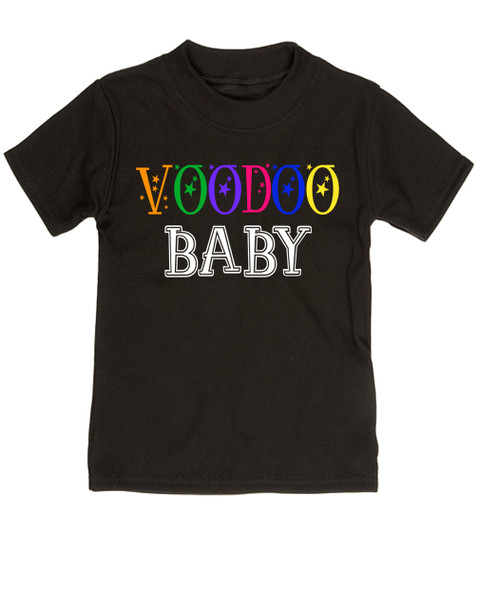 Voodoo Baby Toddler shirt, voodoo lady toddler tshirt, ween kid shirt, ween voodoo lady, voodoo baby, black