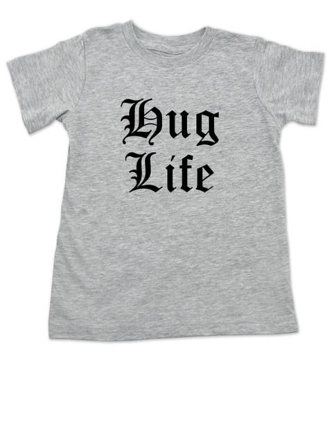 Hug Life toddler shirt, grey