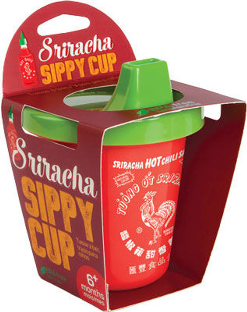 Sriracha  sippy cup, novelty kids sippy cup, funny sippy cup for toddlers, hip cup for toddlers, red sippy cup, funny sippy cup