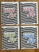 Badass baby greeting card, hand made greeting card for baby, badass baby box, greeting card for baby gift