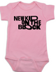 New Kid on the Block baby Bodysuit, NKOTB, New Kids on the Block Band, 80's Baby Onsie, pink