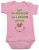 Grinch Problems Baby Bodysuit, Christmas Grinch Bodysuit, funny christmas baby clothes, Funny Christmas Bodysuit, 99 Problems, Jay-Z, The Grinch Onsie, pink