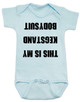 Kegstand Bodysuit, Inappropriate baby clothes, baby shower gag gift, punk rock baby, Rock n Roll Baby bodysuit, Badass baby clothes, rock and roll infant creeper, hardcore baby, hilarious Bodysuit, Keg Stand Bodysuit, blue