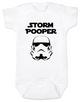 Star Wars Storm Pooper Baby Bodysuit, white