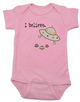 I believe baby Bodysuit, UFO believer, aliens exist, life on other planets, pink