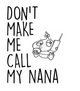 Don't make me call my Nana toddler shirt, Don't make me call my Grandma toddler shirt, kid or toddler gifts from grandparents, funny grandma toddler t-shirt, spoiled grand toddler shirt, personalized grandparent kid clothes