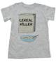 Cereal Killer toddler shirt, horror movie toddler t-shirt, bowl of cereal, Cereal Killer, Punny kid