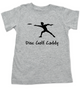 Disc Golf Cady toddler shirt, Future Disc Golfer, Disc golf toddler t-shirt, sports kid clothes, grey