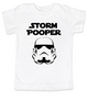 Star Wars toddler shirt, funny star wars for kids, Storm Pooper toddler shirt, funny storm trooper shirt