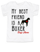 My Best Friend is a Boxer toddler shirt, Boxer Puppy Love toddler t-shirt, kids Best Friend, Fur baby best friend, Love my doggy toddler shirt, personalized dog lover toddler shirt, unique baby shower or birthday gift, personalized toddler birthday gift, cute I love my dog kid clothes, badass dog toddler shirt, Rescue dog toddler shirt, personalized dog toddler shirt, shirt with custom name