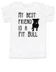 kids Best Friend, Love-a-bull toddler shirt, personalized dog lover toddler shirt, cute pit bull kid clothes, badass dog toddler shirt, I love my pit bull toddler shirt, pit bull best friend toddler shirt