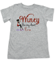Winey Aunt toddler shirt, Winey like my Aunt, Badass Auntie, Love my cool aunt, Personalized Aunt toddler shirt, grey