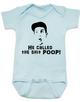 Adam Sandler baby Bodysuit, Billy Madison baby Bodysuit, poop blue baby clothing