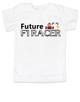 Future F1 Racer toddler shirt, Future race car driver, Formula one racing kid, indy car racing toddler, parents that love F1 racing, personalized F1 racer toddler gift, boy f1 racer, girl f1 racer, no name