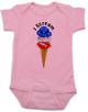 red white blue ice cream Bodysuit pink