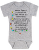 Christmas Vacation baby Bodysuit, jolliest bunch of assholes Bodysuit, classic Christmas Movie Bodysuit, funny christmas baby clothes, funny holiday baby Bodysuit, Griswold christmas, National Lampoon Christmas movie baby gift, Lampoons Christmas quote, Funny christmas baby, Christmas Vacation quote, This side of the nuthouse, crazy family christmas, grey