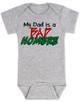 Bad Hombre Baby Bodysuit, my dad is a bad hombre, bad dude bad hombre, funny trump baby Bodysuit, funny political baby Bodysuit, bad hombre infant bodysuit, grey