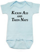 Kickin Ass and Takin Naps Bodysuit, Mommy & Me matching set, Badass Mom, Mother's Day Gift