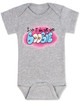 I did it all for the boobie, I did it all for the nookie, funny breastfeeding baby onesie, boobie baby bodysuit, Limp Bizkit baby bodysuit, graffiti baby onesie, old school music reference baby gift, I did it for the boobies, spray paint art baby gift, grey