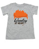 Weasley at heart, Harry potter kid, Wizarding world toddler shirt, Weasley toddler shirt, harry potter toddler shirt, red head weasley kid, wizard kid, ron weasley shirt, weasley brothers shirt, harry potter gift, grey