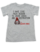 Sent from Heaven to cause Chaos and Destruction, kids on a mission to cause trouble, crazy toddler shirt, funny shirt for crazy kids, wild child t-shirt, mischievous toddler shirt, kid chaos, destructive toddler,  funny toddler shirt, grey