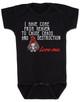 bodysuit, funny bodysuit for new parents, wild child, mischievous baby, kid chaos, destructive toddler,  funny baby gift, black