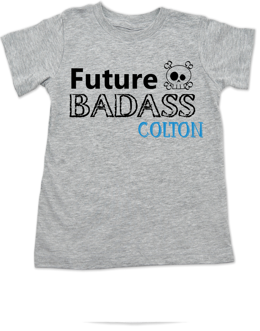 7803d59d Future Badass toddler shirt, skull toddler t-shirt, badass little boy,  badass