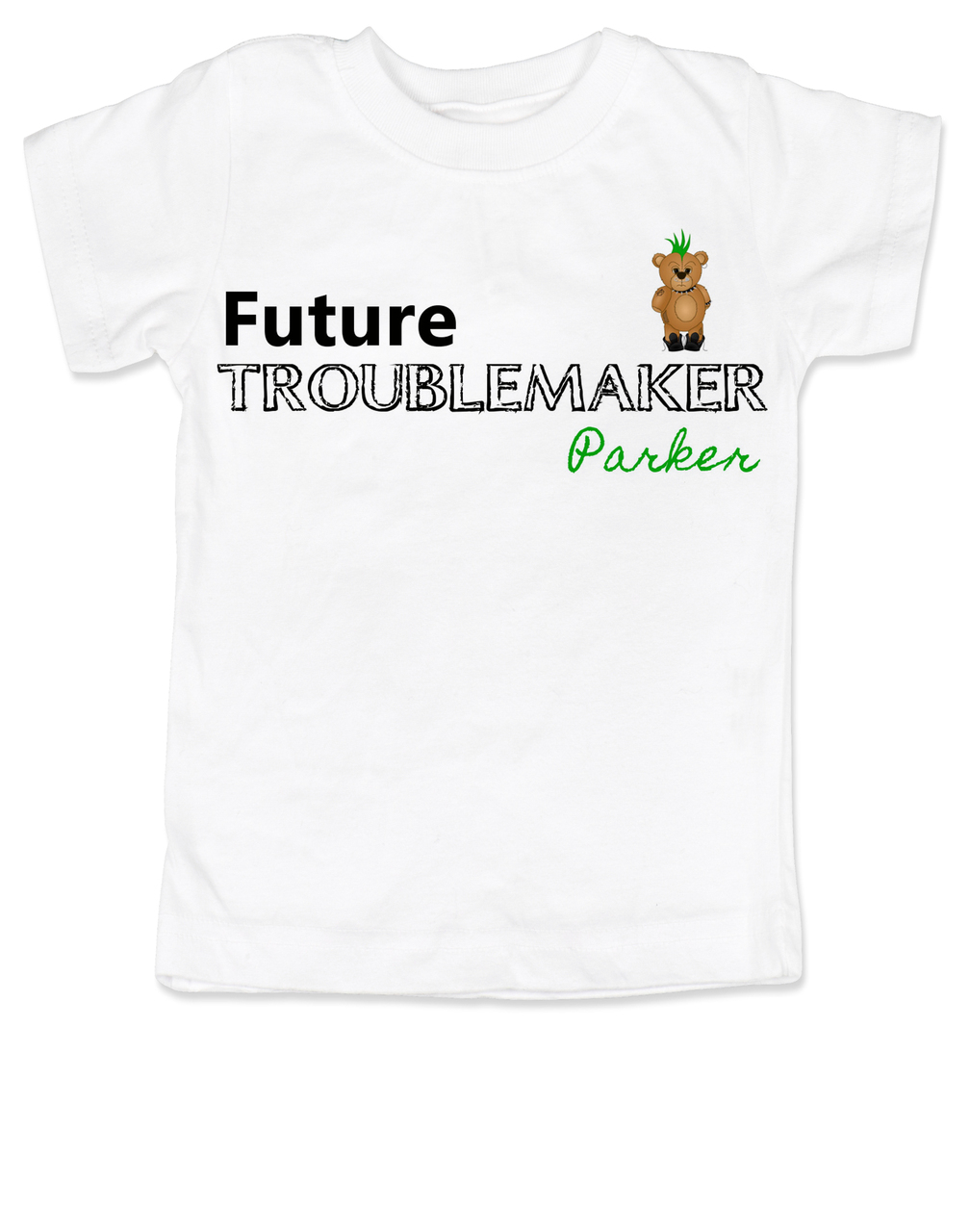 54b707664 Future Troublemaker Toddler Shirt