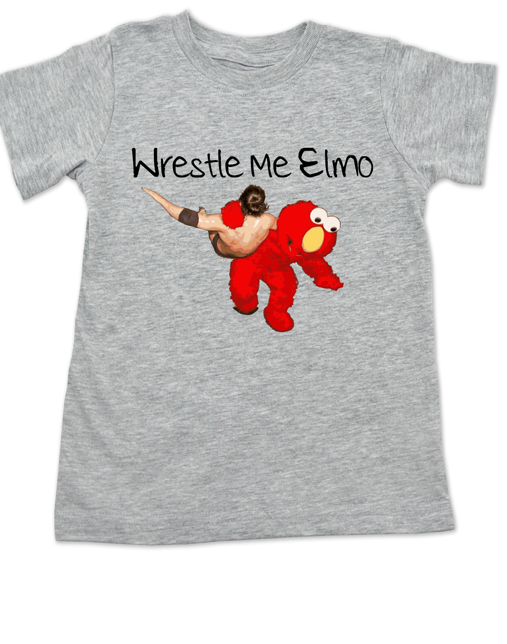 Wrestle Me Elmo Toddler Shirt