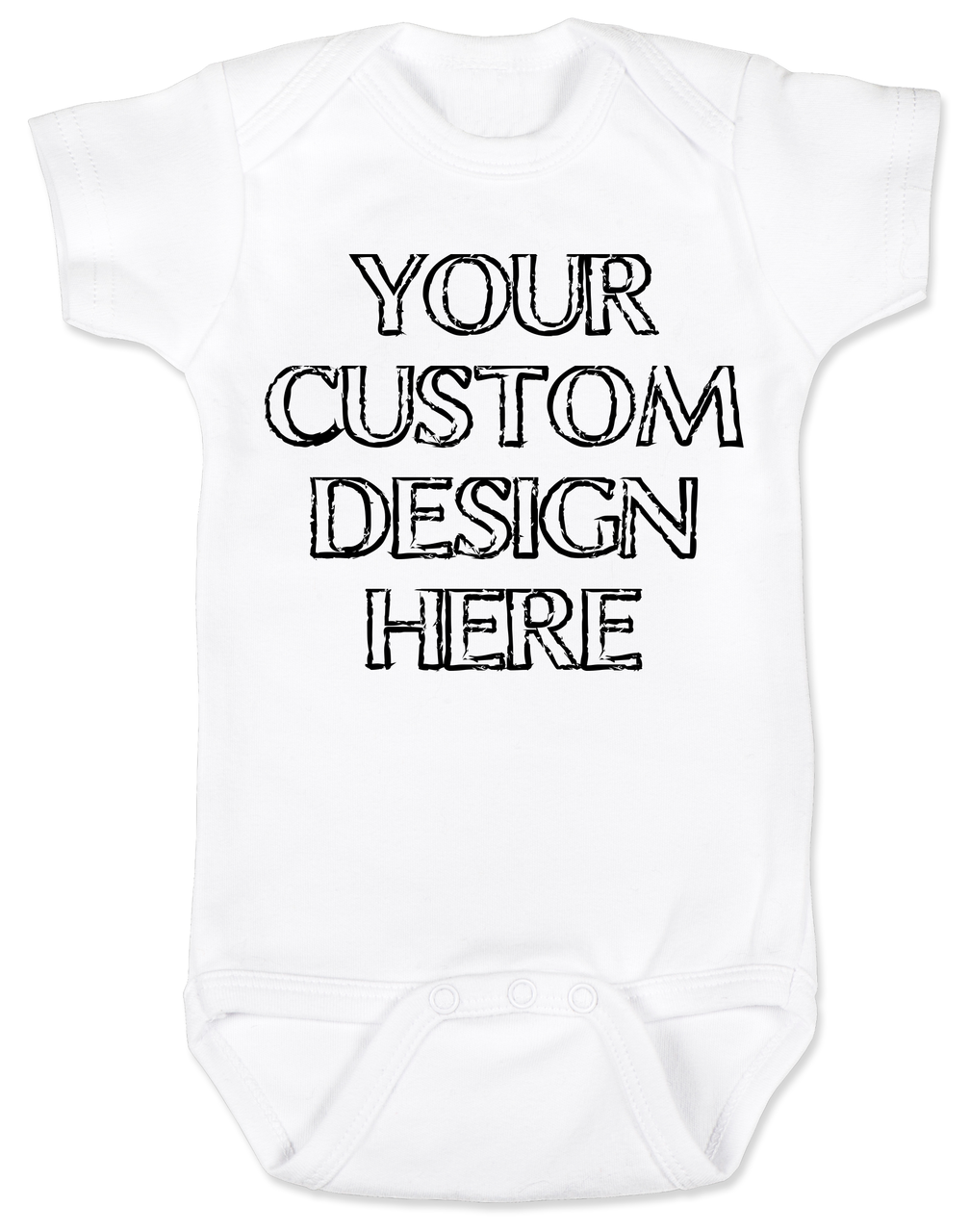 New Baby Gifts Baby Clothes Cotton Made in USA Custom Baby Bodysuit Baby Gifts