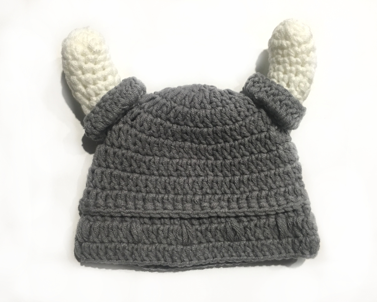 Viking Crochet Baby Hat