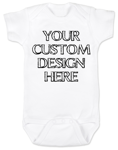9bb0ea426d94 Design your own custom baby Bodysuit, create your own infant bodysuit, Personalized  baby onsie ...