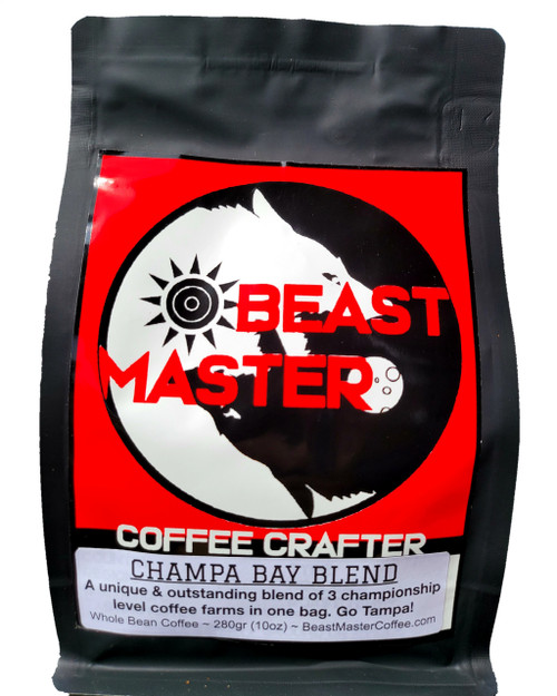 Beast Master Coffee Crafter Champa Bay Whole Bean Blend