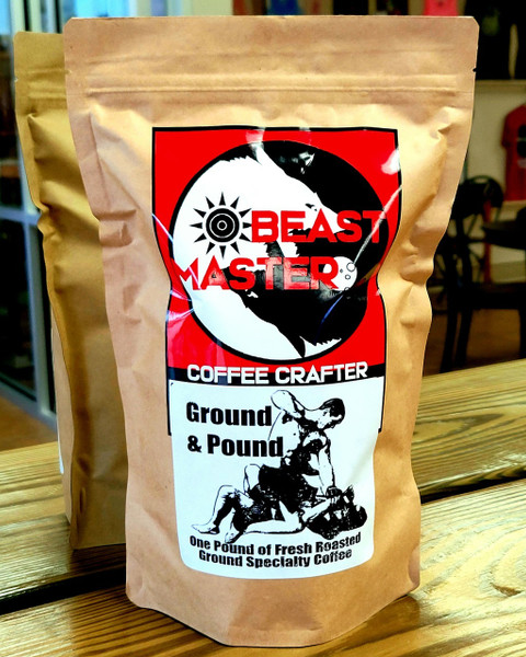 Beast Master Coffee Crafter Ground and Pound