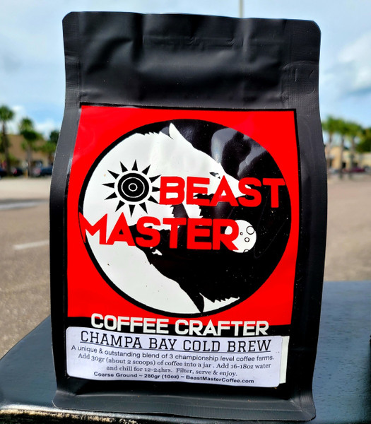 Beast Master Coffee Crafter Champa Bay Cold Brew