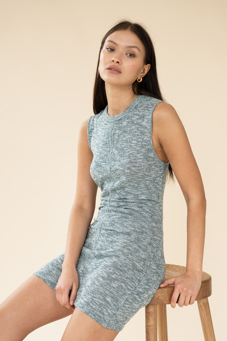 CLAUDIA DRESS - FOREST