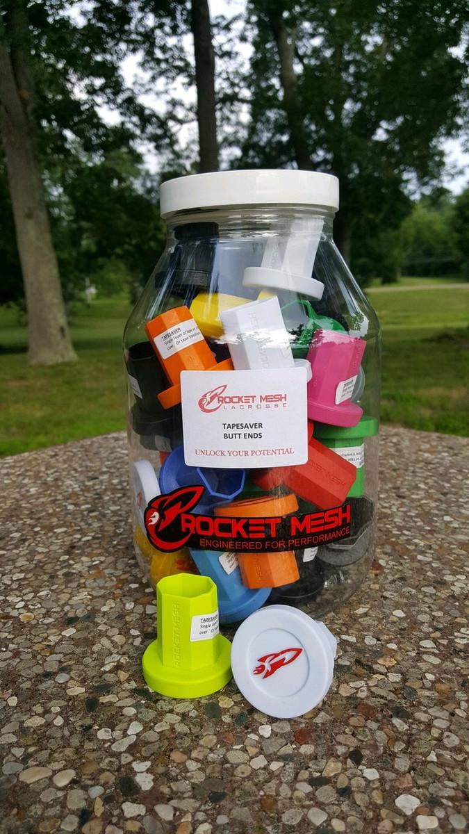 Rocket Mesh TapeSaver Jar (40 Units Assorted Colours)