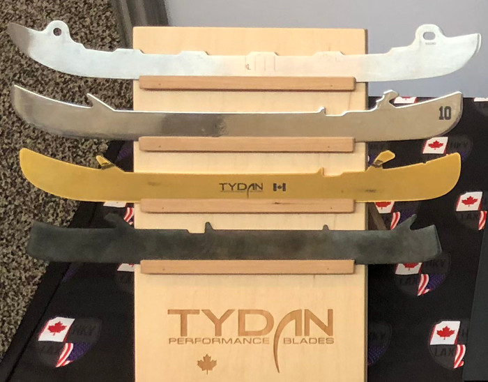 TYDAN Counter-Top Display with 4 Blade Finishes