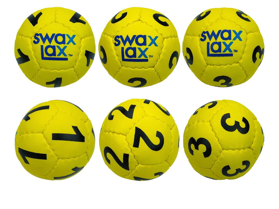 SWAX LAX - Goalie Ball 3 Pack