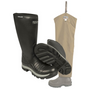 Quatro Non-Insulated Boot with Snake Protector Chaps by Dan's Hunting Gear®