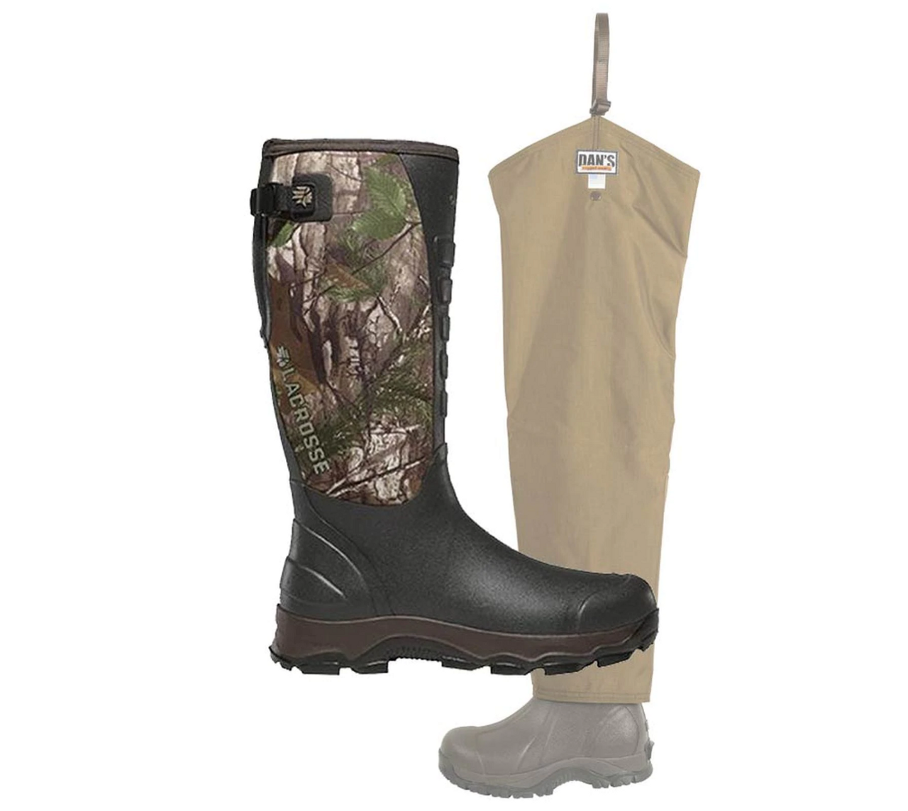 LaCrosse 4X Alpha Boot with Five Star Briarproof Froglegs