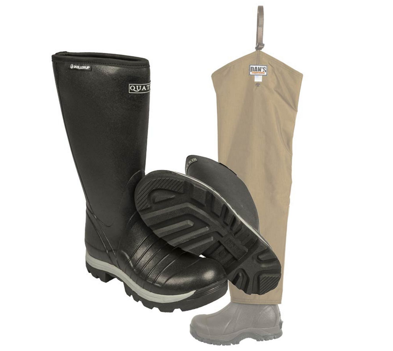 Quatro Insulated Boot with Five Star Briarproof Froglegs
