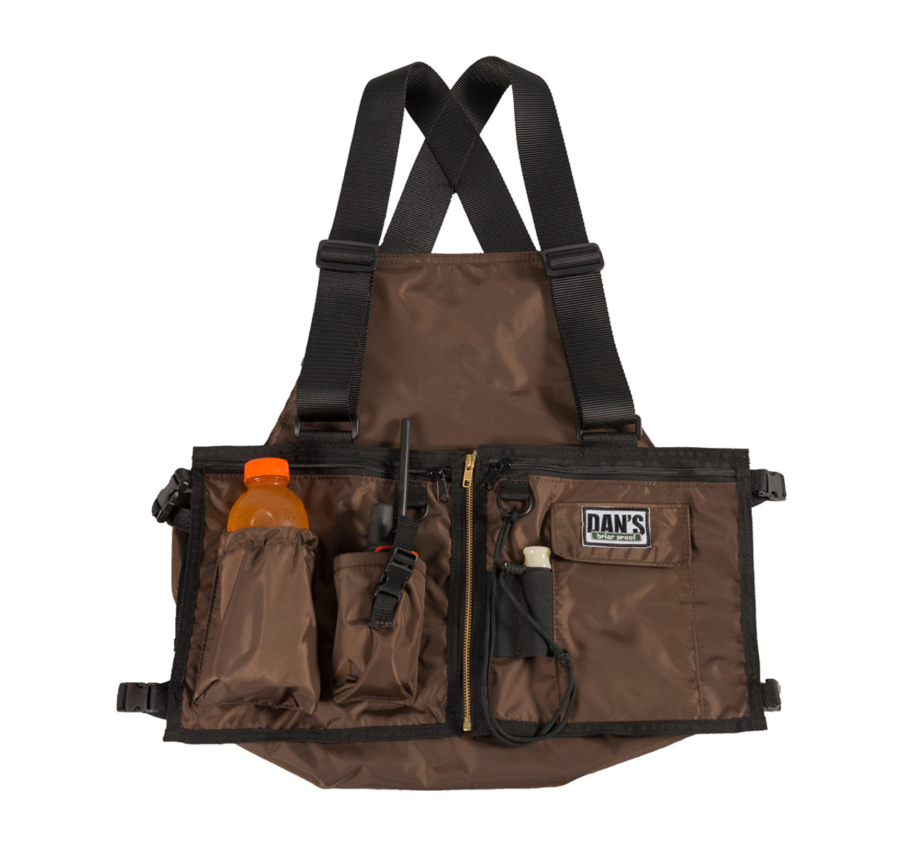 Dans Hunting Gear Ultimate Strap Vest (Brown)