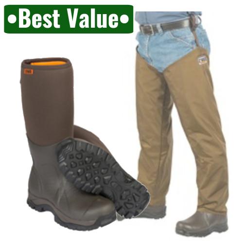 Dan's Frogger Boot with Waterproof Chaps by Dan's Hunting Gear® | Windwalker Outdoors