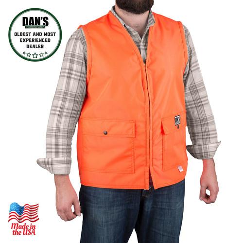 Blaze orange vest Dan's Hunting Gear