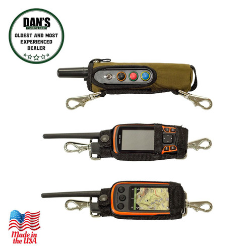 Dan's Hunting Gear - Transmitter holders | Windwalker Outdoors | Montana U.S.A.